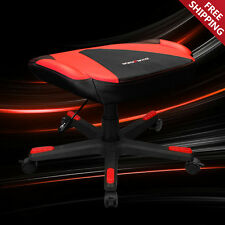 DXRACER FX0/NR Adjustable Storage Ottoman Footstool Chair Gaming Seat