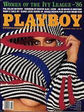PLAYBOY US 10/1986 Oktober / October - Phil Collins, Alan J. Dixon, Sharon Kaye