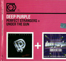 Perfect Strangers/Under the Gun(live)by Deep Purple (Rock) (CD, Apr-2000) 2 cd's