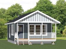 18x30 Tiny House -- 540 sq ft -- PDF Floor Plan - Model 4E