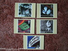 PHQ Stamp card set No 178 Going to the Pictures 1996. 5 card set  Mint Condition