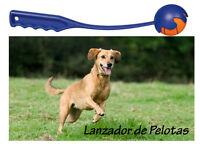 Lanzador de Pelotas para perros 35 cms incluye 1 pelota