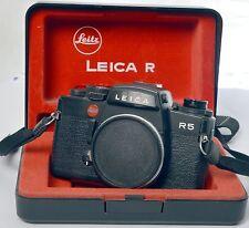 Leica R5 35mm SLR Film Camera Body only