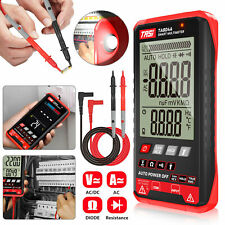 Digital Ammeter Ohmmeter Multimeter Auto Range Volt Ac Dc Meter Tester Withlight