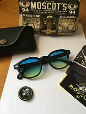 Moscot Lemtosh Matte Black 49