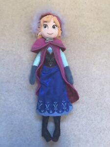 Large Disney Frozen Anna Soft Doll