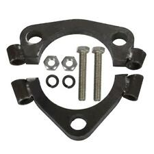 Bolt-on 2.5'' ID Exhaust Triangle Split Flange For 2.25'' OD Pipe