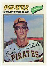 1977 TOPPS PITTSBURG PIRATES KENT TEKULVE #374  HALL OF FAME