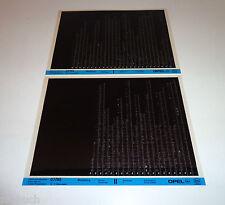 Microfich Werkstatthandbuch Opel Monterey - Stand 07/1995