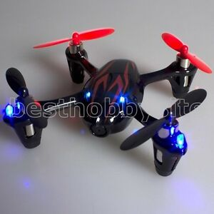 Hubsan X4 H107C 4CH Video Camera Quadcopter 2.4G 107C Drone RTF Black Red Mode 1