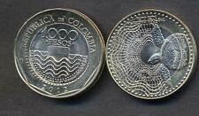 COLOMBIA 1000 Pesos 2012 bimetallic Turtle UNC