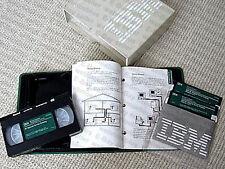 MAKE OFFER - IBM PC-Network Service Training, manual / VHS video tutorial, RARE