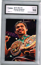2014 Manny Pacquiao Boxing Prospects Art of 25 Gem Mint 10