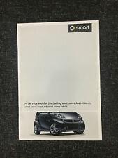 SMART SERVICE HISTORY BOOK SMART FORTWO SMART MERCEDES BMW AUDI SKODA VW