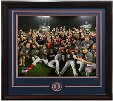 Boston Red Sox 2018 World Series Champions 8x10 team photo framed coin Pearce