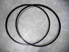 Vintage ARAYA RIMS 700c BLACK 36 HOLE single wall Endrick 1pair NOS