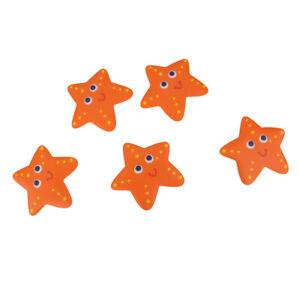 5Pcs Starfish Baby Safety Bathtub Treads Non   Anti-Skid Shower Stickers