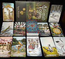 LIGHTLY USED! ANIMAL TOTEM TAROT CARD & BOOK ORACLE POWERFUL GUIDES TO CONNECT