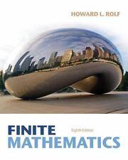 TEST BANK Finite Mathematics byRolf ISBN: 9781133945772 ISBN: 1133945775