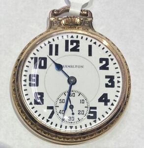1930 Hamilton Pocket Watch - 992E - 21 Jewels - Model 2