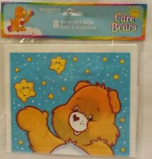 New~8 Count Pack of Care Bear Loot Happy Birthday Gift Party Bags