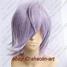 Un-Go Inga brack cosplay lumière Perruque violet clair .+ gratuit hairne