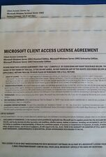 Microsoft Windows Terminal Server 2003 10 Device CAL License