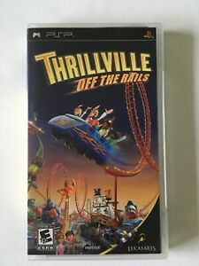 Thrillville Off The Rails (Sony PSP, 2007) Complete w/ Manual