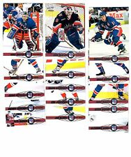 1X NY RANGERS 2000-01 Pacific FULL TEAM SET Lots Available FLEURY LEETCH