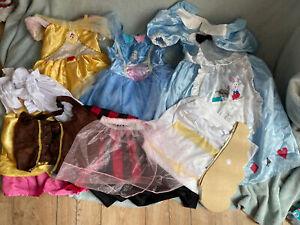 Girls Fancy Dress Dressing Up Costumes - 3-7 Years - Alice In Wonderland, Cinder