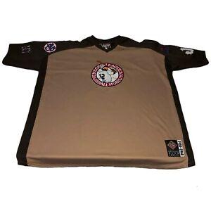 Negro League Baseball Museum Jersey 1920-1960 Blue Shirt All Team Patches 5XL