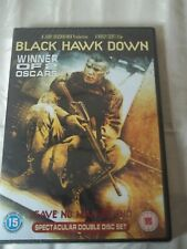 BLACK HAWK DOWN DVD DOUBLE DISC SET CERT 15
