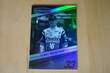 2010 Press Pass Stealth Black and White #4 Clint Bowyer Card