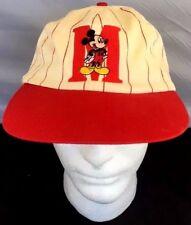 Mickey Mouse Red/White Baseball Cap Snapback