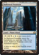 *MRM* FOIL ENG Fontaine sacrée ( Hallowed Fountain ) MTG Return to ravnica