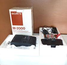 Sony M-2000 Microcassette Transcriber Diktiergerät TOP TOP TOP