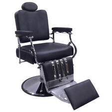 Classic Barber Chair, Fully Reclines, Heavy-Duty Lift Pump, Professional Grade