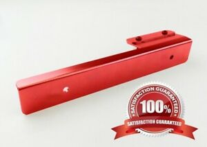 Red Side Mount Bumper License Plate Mounting Bracket Plate for Toyota Lexus