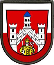 Wappen von Bad Neustadt(Saale)  Patch, Aufnäher, Pin, Premium  Aufnäher