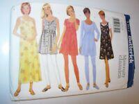 WOMENS UNCUT BUTTERICK 5561 Sewing Pattern MATERNITY DRESS TOP SIZE 14 16 18