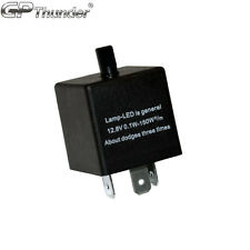 Adjustable 60-180min 3 Pin CF13 EP34 Car Flasher Relay Fix LED Light Hyper Blink