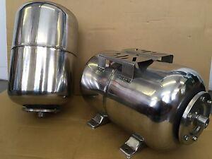 "25L stainless steel pressure vessel, accumalator, pressure tank with 1"" thread"