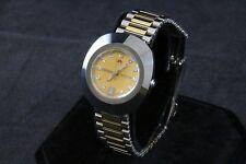 Rado Original Diastar Gold Tone Dial Two Tone S/S Unisex Watch R12403633