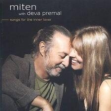 MITEN WITH PREMAL,DEVA-SONGS FOR THE INNER LOVER CD NEW