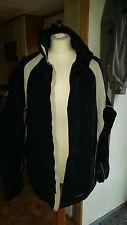 Homme noir & blanc vélo veste ~ taille xl angelo litrico
