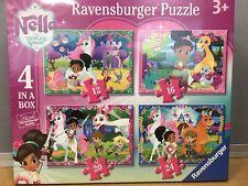 Ravensburger Nella The Princess Knight Puzzle Set Of 4