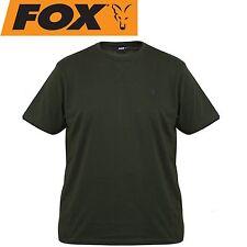 Fox Green Black T-Shirt - Angelshirt, Anglershirt, TShirt, Shirt für Angler
