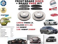 für Lancia Thema LX 3.6 3. 0D Limousine 2011- Vorderbremse Scheibensatz +