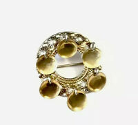 Vintage Norway 830 Silver Gold Solje Wedding Brooch Pin GIFT BOXED