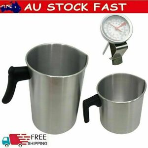 1.2/3L Wax Melting Pot Pouring Pitcher Jug For Candle Soap Making DIY Hand Tool*